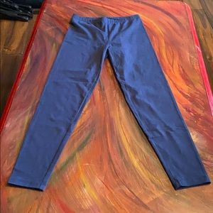 Simply Vera Wang Blue Leggings